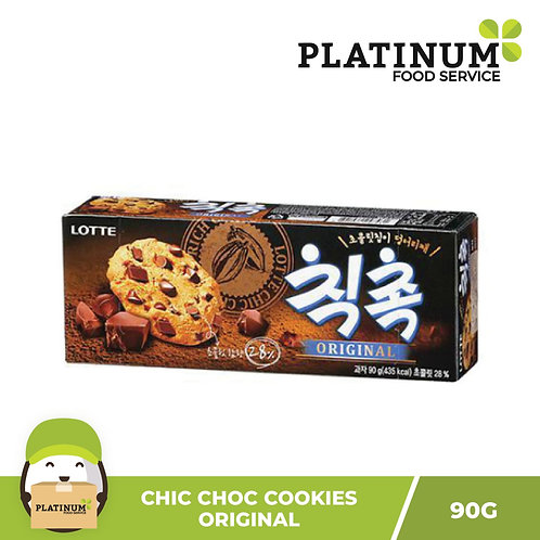 Lotte Chocolate Chip Cookies 90g