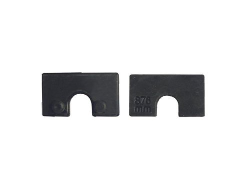 RUBBER FOR GLASS CLIP SMALL SQUARE (45X45)