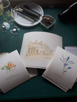 photo of flower and highlands prints