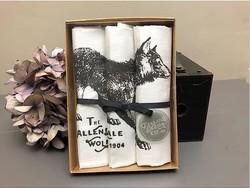 Allendale Wolf hankies