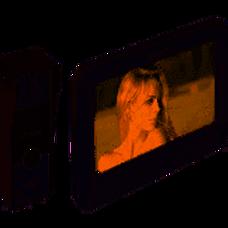 KIT - KIS202 - HIKVISION Frente portero analógico 720x576px, plástico, IP65