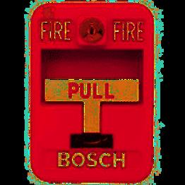 FMM-7045 - BOSCH Avisador Manual Direccionable, Simple Acción, Rojo