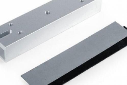 CYGNUS EL-180U accesorio en U p/montaje de cerradura magnética en vidrio 180kg