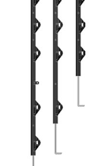 VVAR-4-UV Varillas para Muro de 4 hilos. Proteccion UV, Alma de acero