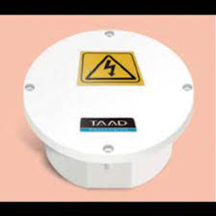 Caja-Circ - TAAD Caja estanco Circular 110x50 Ideal CCTV