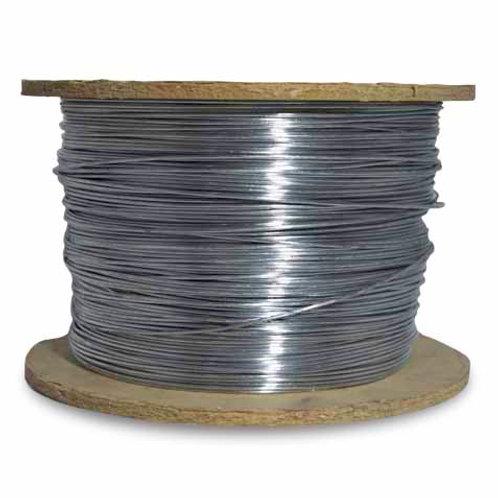 AG-1.5 Alambre de aluminio 1,5mm (precio por bobina cerrada de 100 mts)