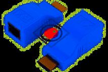 Conector HDMI a RJ45 hasta 30m - 1080p