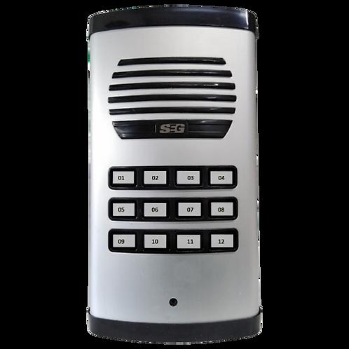 SEG-PE12 - SEG Unidad exterior para edificios | Panel de 12 botones apto exterio