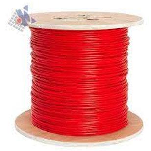 MAS-INC-135 Cable incendio - 2x1,35 Rojo normalizado