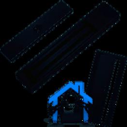 CYGNUS EL-180 cerradura magnética de contacto 180kg