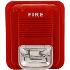 Sir-strobo Sirena Alarma Para Incendio Flash 3 Tonos estroboscópica