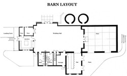 Reception Barn Layout