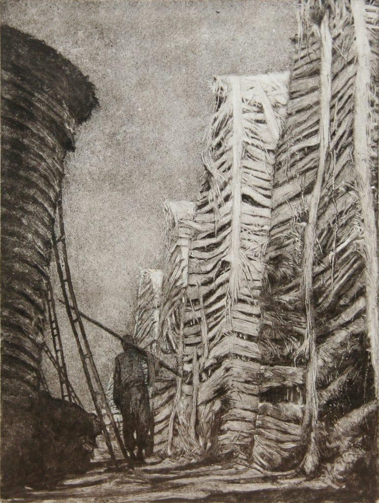 Edith Dufaux, Couloir, 2017