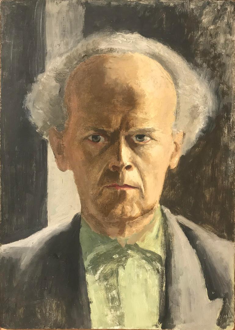 Karl Godeg, Autoportrait, circa 1956