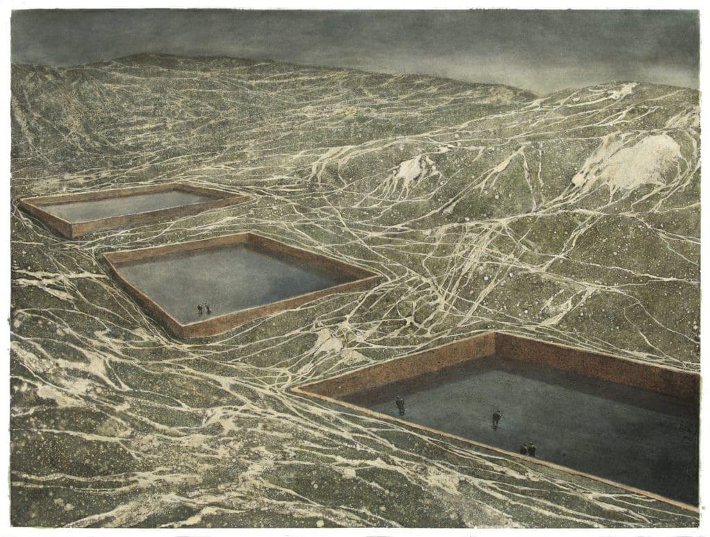 Edith Dufaux, Les réservoirs, 2018