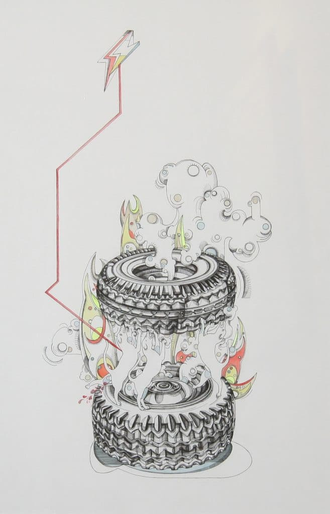 Clara Fierfort, Incendies 3, 2016