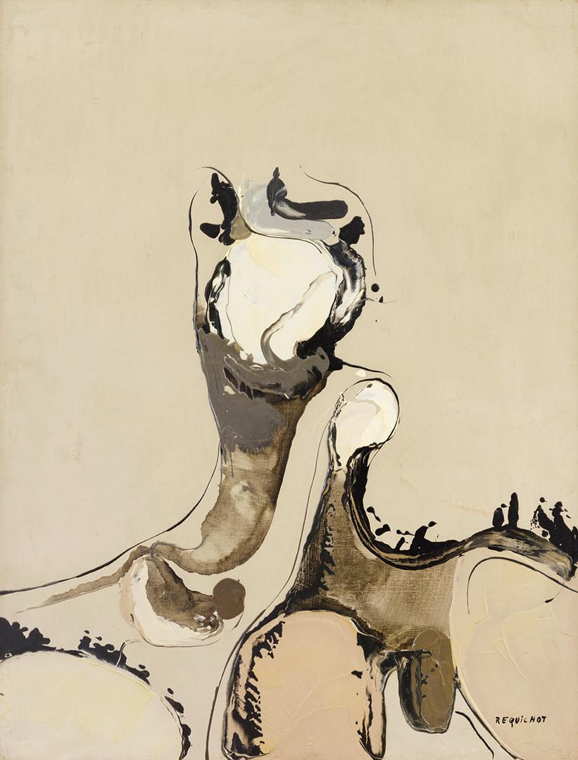 Bernard Réquichot, oeuvre de Bernard Réquichot 1956