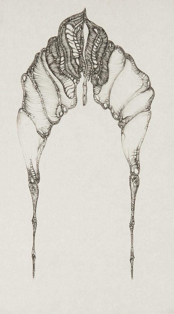 Cécile Reims, Dans l'axe, d'après Fred Deux, 1975
