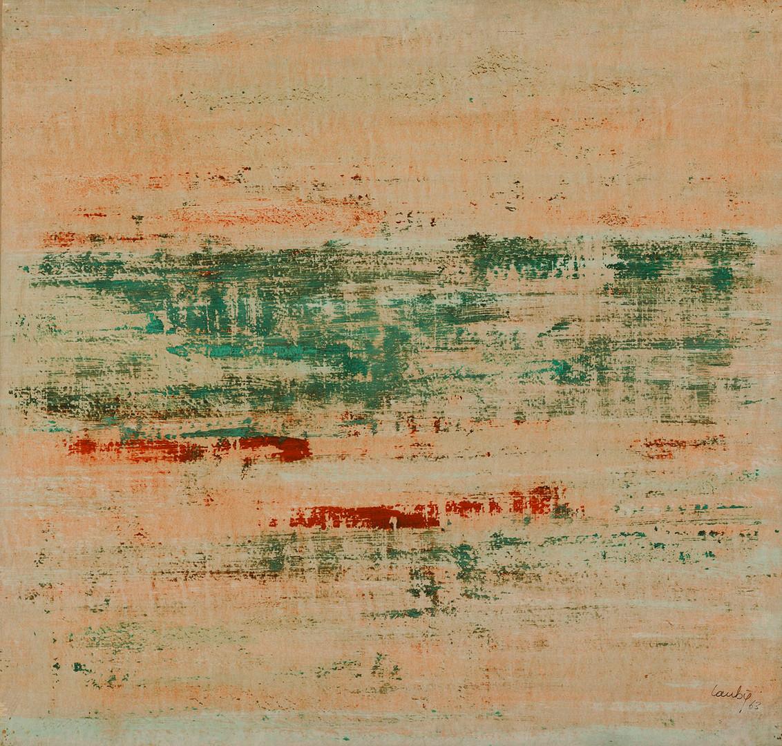 René Laubiès, Sans titre, 1963