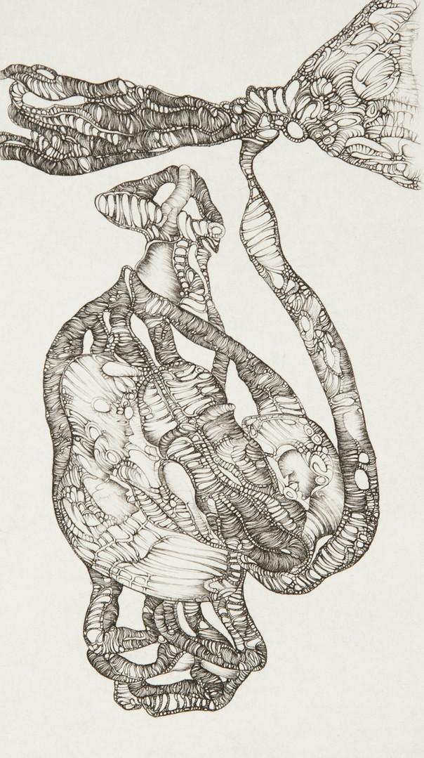 Cécile Reims, En visière, d'après Fred Deux, 1975