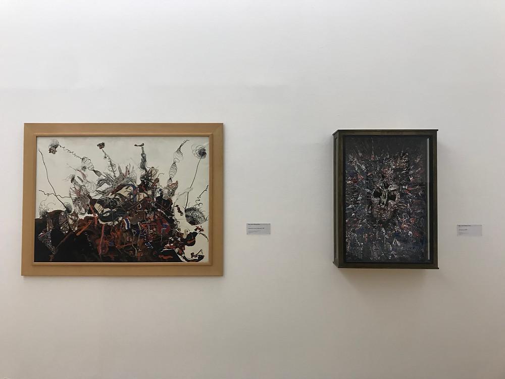 tableaux dans le musée national d'art moderne