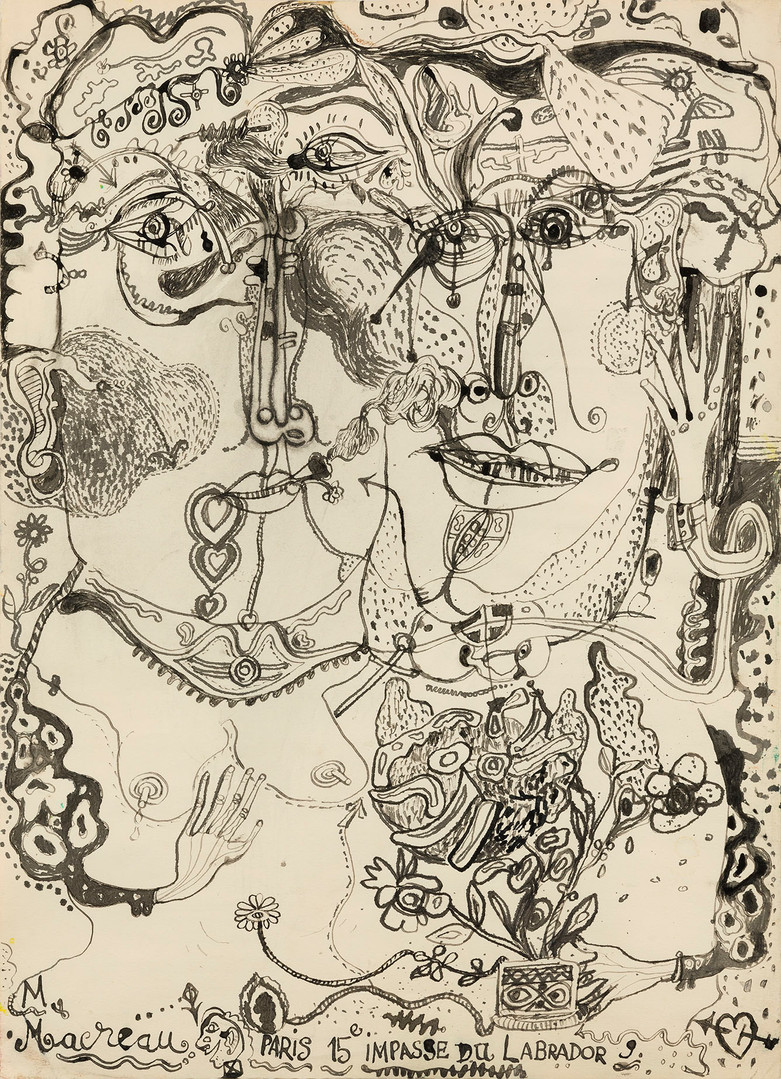 Michel Macréau, « Couple », 1964