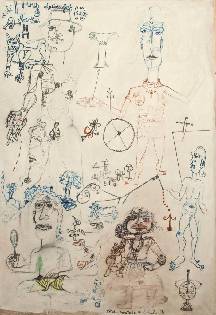 Michel Macréau, «Châteaufort», 1963