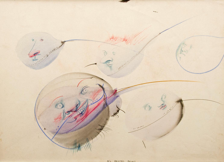 Dado, Les Ballons poilus, 1957