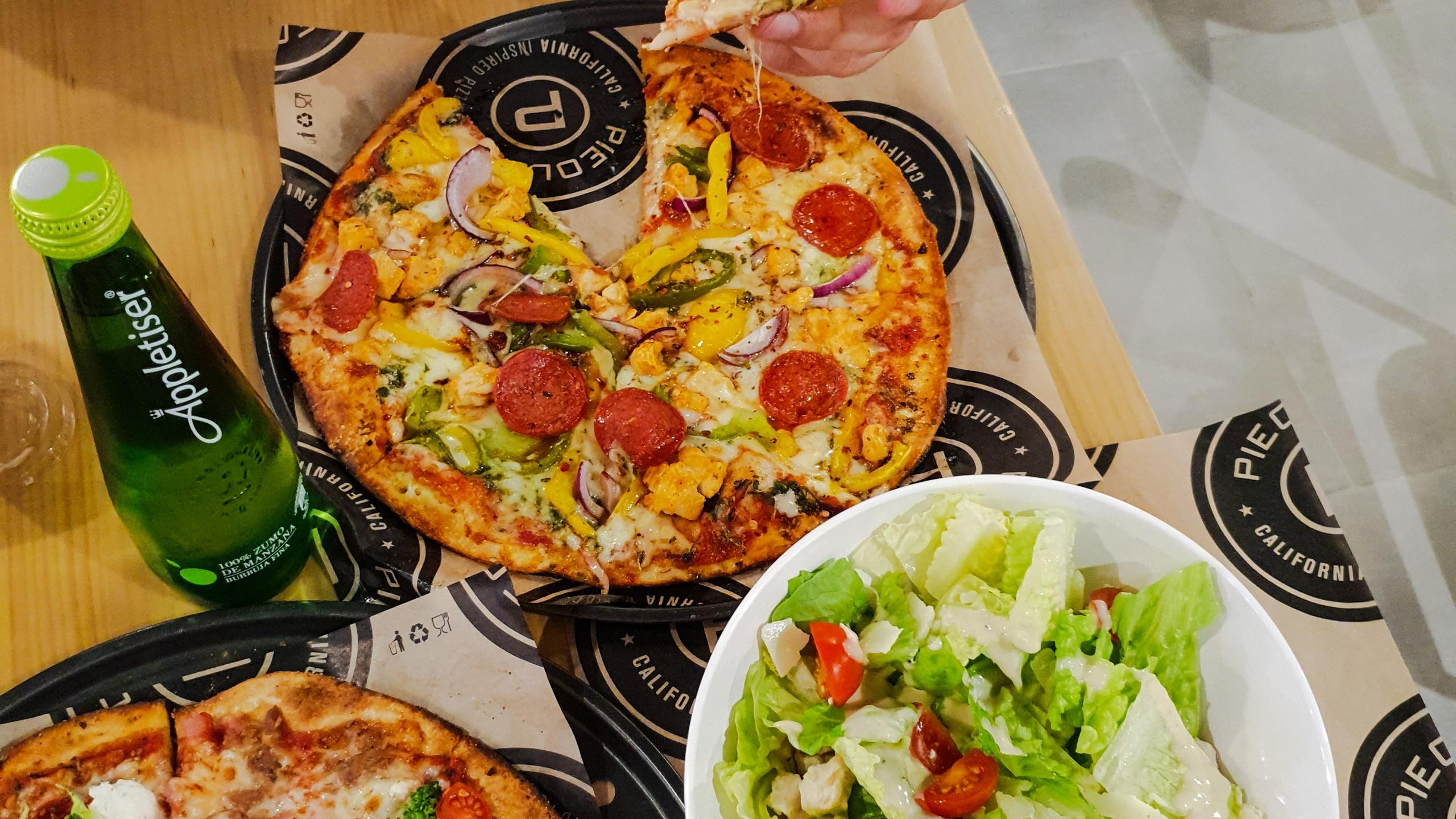 Paso 3: Tu pizza lista en 5 minutos.