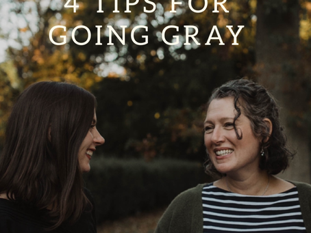 4 Tips for Going Gray