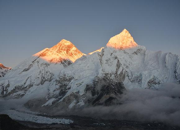 L'Everest par les trois cols