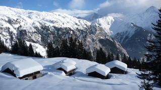 Raquettes au pays du Mont Blanc