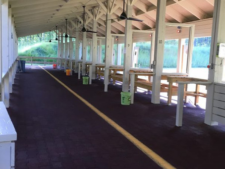 West Point WMA Shooting Range Gets Facelift