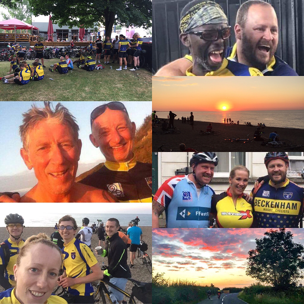 Images from Dunwich Dynamo 2017