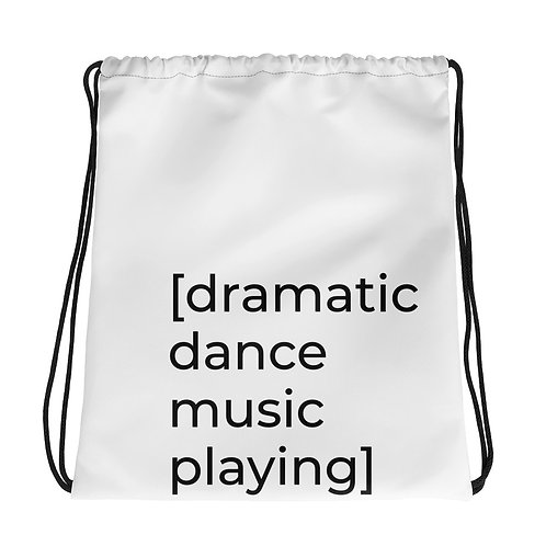 [dramatic dance music playing] Eco Bag