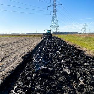 Plow in Long Term Tillage