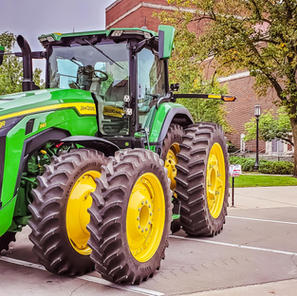 John Deere day on Campus