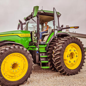 New 8R 340 tractor