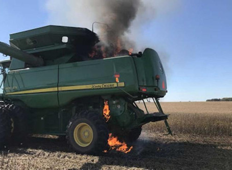 Harvest Field Fire Prevention and Reaction