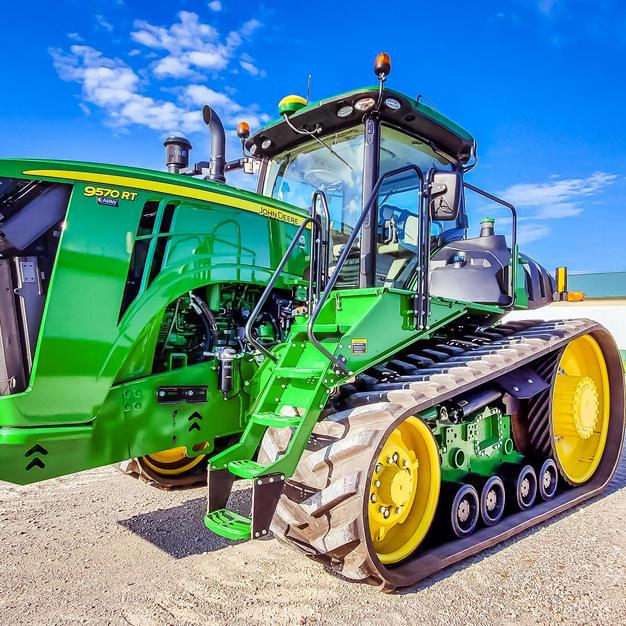 9570 tractor on loan for John Deere Testing
