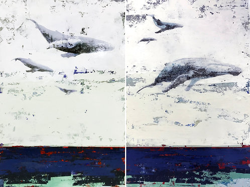 Electric Sea Diptych