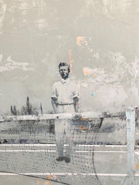 Match Point (detail) by Mark Gabriel