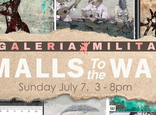 Art Exhibition: Smalls to the Wall