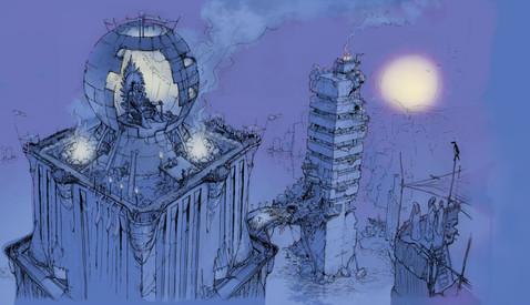 Mark Gabriel Artist, Artista, Illustrator, Film, Production Design