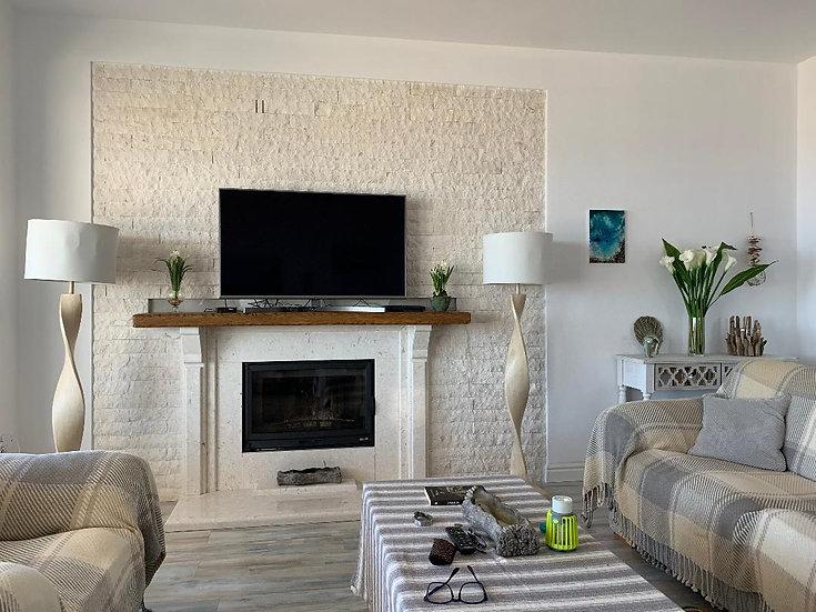 CUSTOM ORDER for Rudina for 3 x 90 cm L shelves +  x 4 White Coastal Shelves