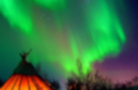 Northern Lights camp, Sollia Aurora Park Kirkenes