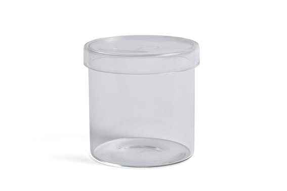 Container by HAY in Clear. A perfect catchall for any room of the home or office - wherever small things gather!
