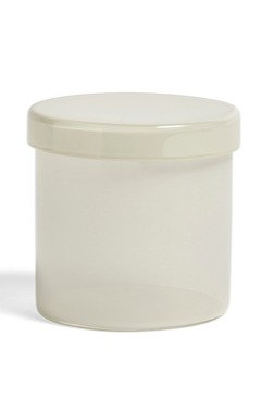 Container by HAY in Milk White. A perfect catchall for any room of the home or office - wherever small things gather!