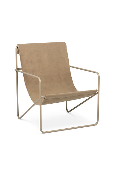 Desert Chair in Cashmere (Beige)/Solid by Ferm Living - Eco Friendly indoor/outdoor furniture.