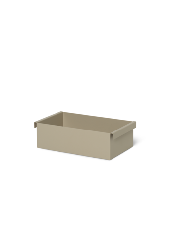 PLANT BOX CONTAINER - CASHMERE